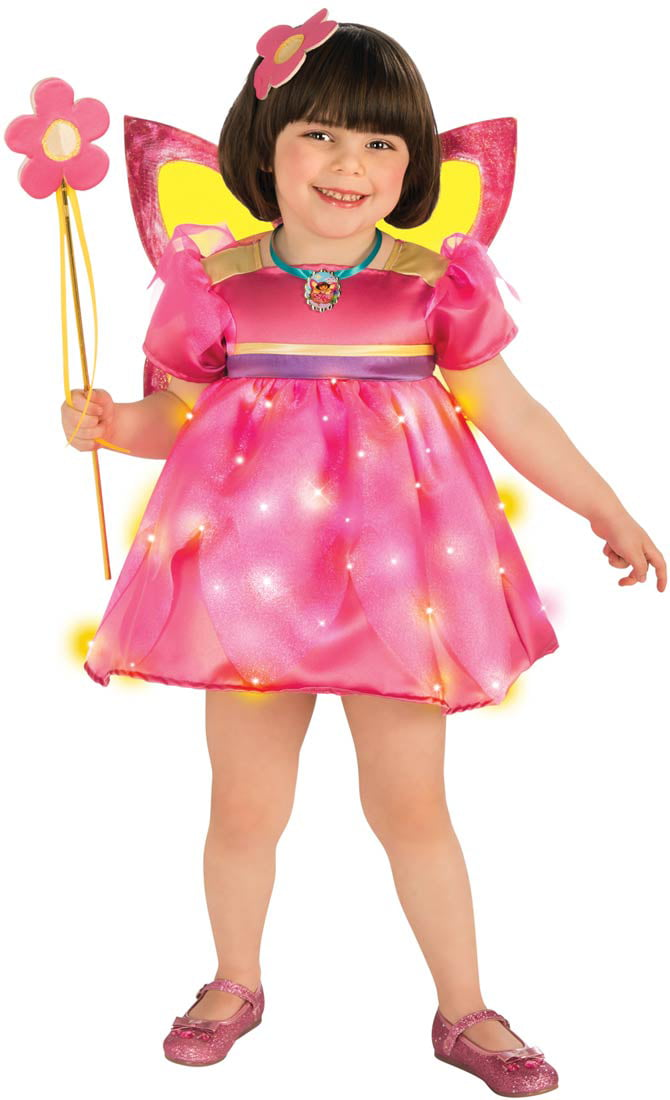 Girls Dora Crystal Fairy Costume by