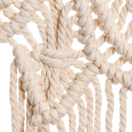 45''x32'' Handmade Bohemian Macrame Woven Wall Hanging  Knitted Tapestry Tassel Curtain Living Room Home Decor Wedding Backdrop Craft - image 1 of 7