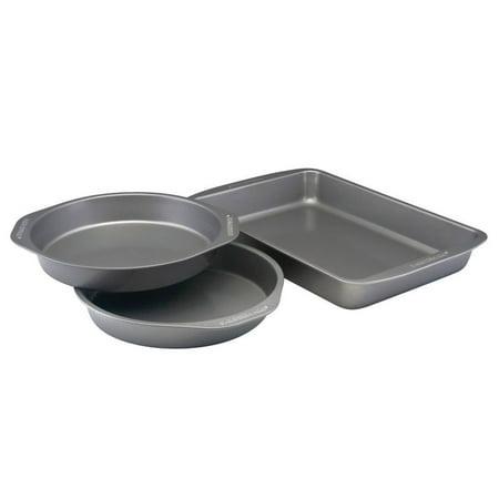 Farberware Nonstick Bakeware 3-Piece Cake Pan Set, - Piece Of Cake Com