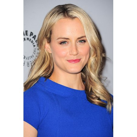 Taylor Schilling In Attendance For Paleyfest Made In Ny Orange Is The New Black The Paley Center For Media New York Ny October 2 2013 Photo By Gregorio T Binuyaeverett Collection Photo Print