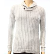 Tasso Elba NEW Beige Mens Size Small S Shawl Collar Ribbed Pullover Sweater