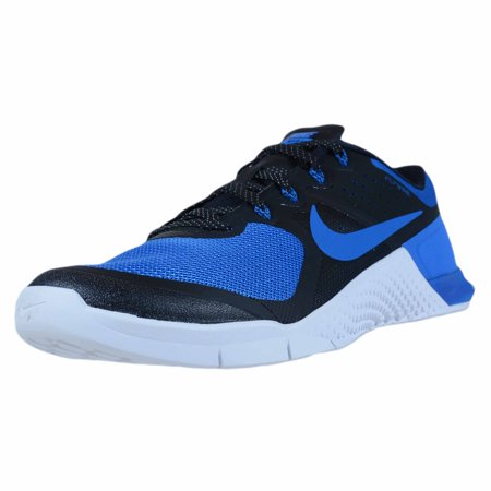 NIKE METCON 2 AMP X BLACK ROYAL BLUE TRAINING SNEAKER 844634 033