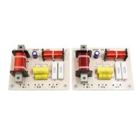 2pcs 2-Way 180W 4000Hz Car Speaker Audio Crossover Filters Frequency Divider