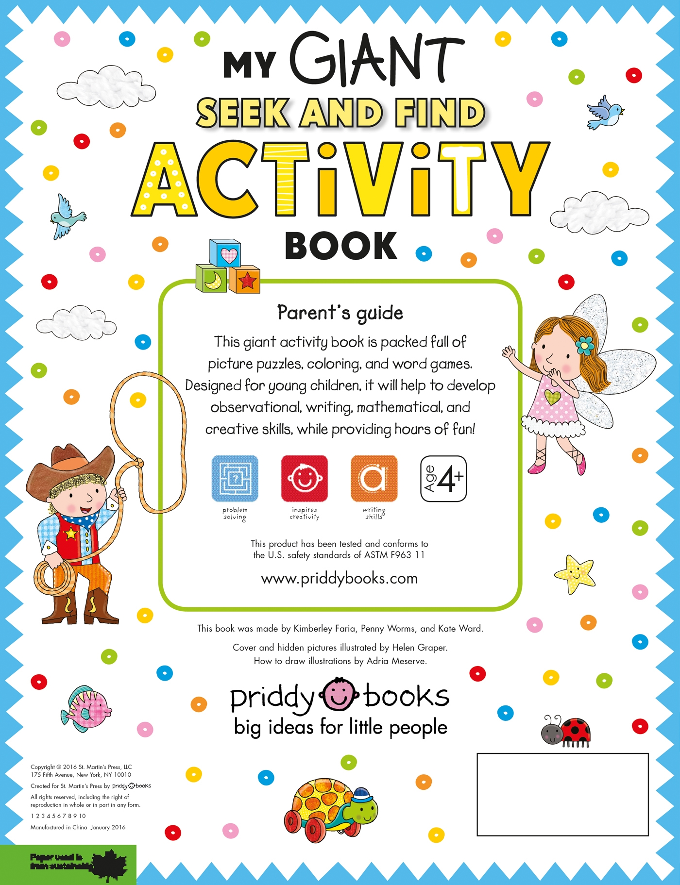 My Giant Seek And Find Activity Book More Than 200 Activities Match It Puzzles Searches Dot To Coloring Mazes
