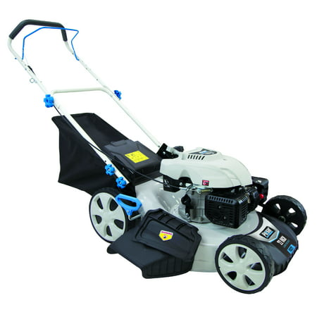 "Pulsar 21"" Gasoline Powered Lawn Mower with 7 Position Height Adjustment"