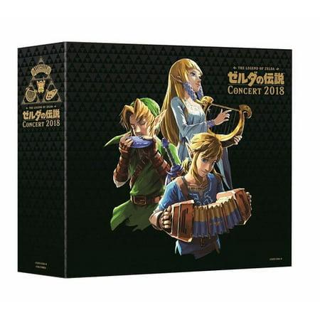 Legend Of Zelda Concert 2018 (Limited Edition) Soundtrack (CD) (Includes Blu-ray) (Limited (Legend Of Zelda Ocarina Of Time Soundtrack)