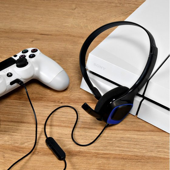 Onn Chat Headset For Playstation 4, Ona14Mg013