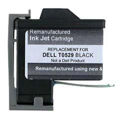 Compatible Dell T0529 Black Ink Cartridge Dell T0529 Black Inkjet