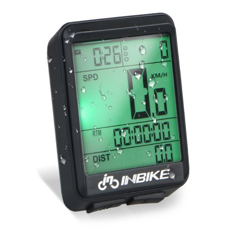 TSV Waterproof Wireless Digital Cycling Bike Bicycle Computer Speedometer