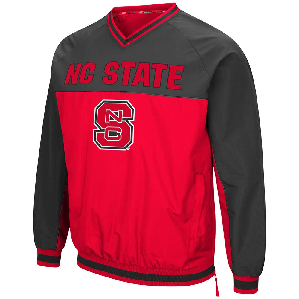 Mens NC State Wolfpack Windbreaker Jacket S by Colosseum