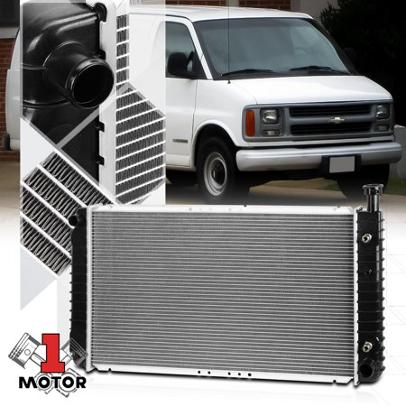 Aluminum Radiator OE Replacement for 96-02 Chevy Express/GMC Savana AT dpi-2044 97 98 99 00 01