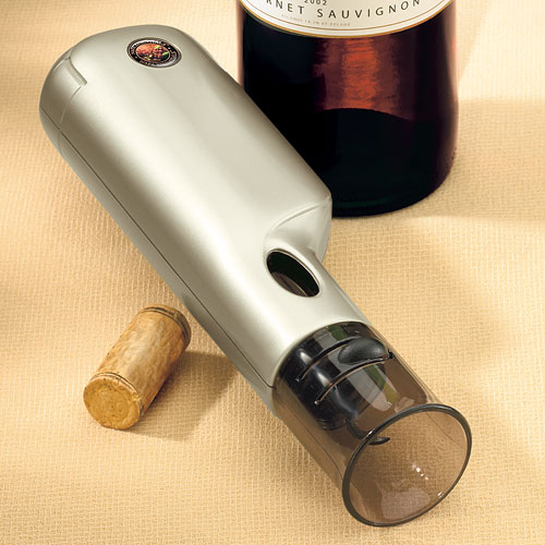 Napa Essentials Battery Operated Corkscrew by