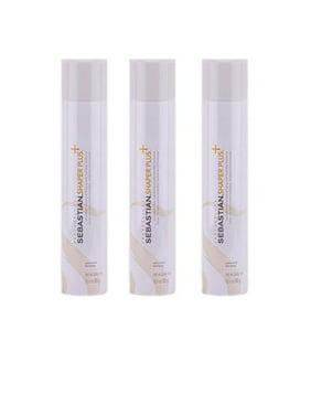 Sebastian Shaper Plus Hairspray (3 Bottles), 10.6 Oz