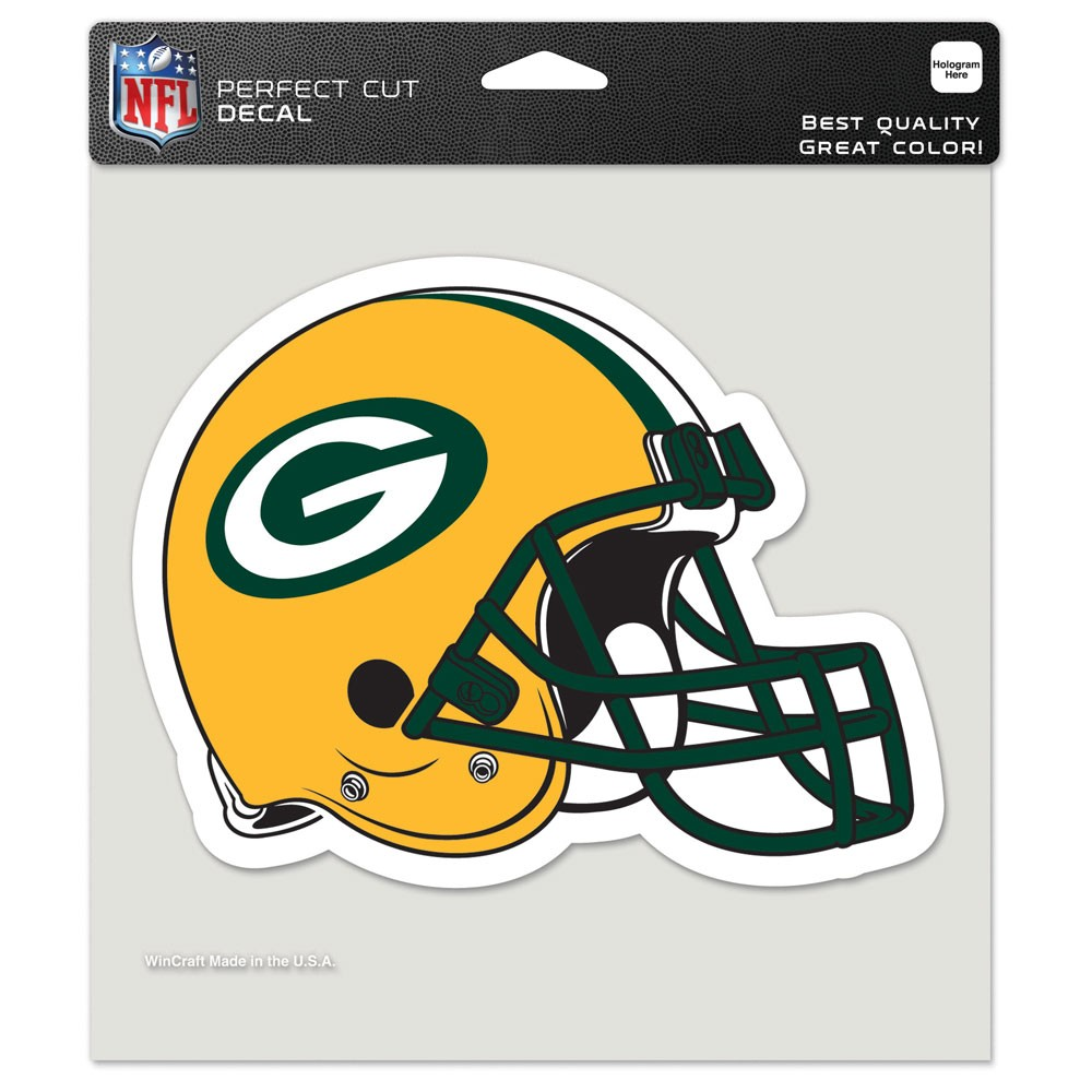 Green Bay Packers Official NFL 8 inch x 8 inch  Die Cut Car Decal by Wincraft