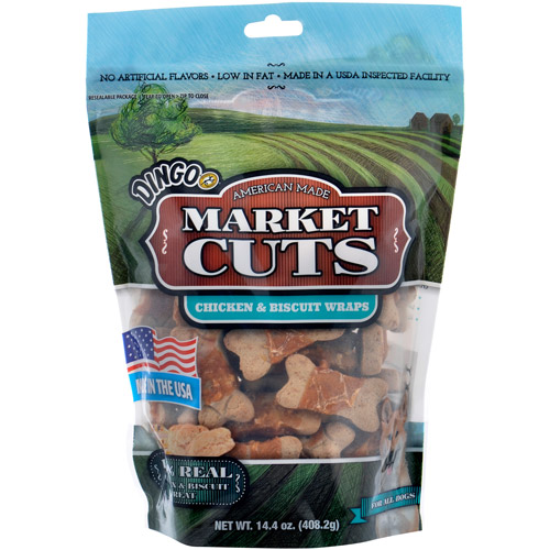 Dingo Market Cuts Chicken-Wrapped Biscuits, 14.4 oz