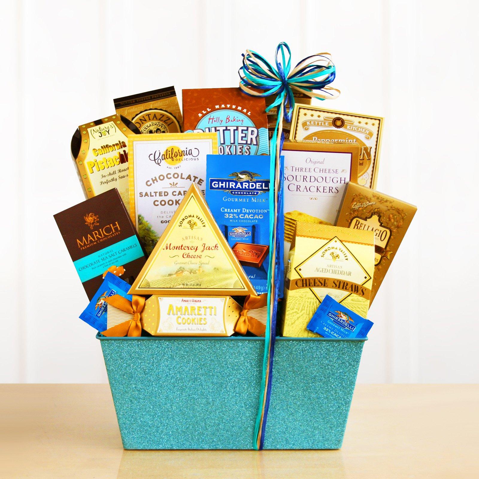 California Blue Sky Sparkling Gourmet Gift Basket