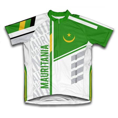 ScudoPro - Mauritania ScudoPro Short Sleeve Cycling Jersey for Women - Size  M - Walmart.com 4c9703cc5