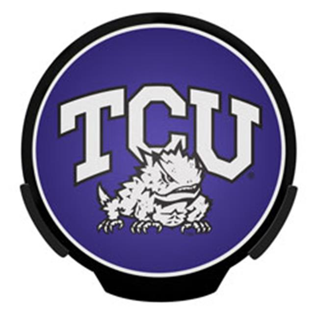 AXIZ GROUP PWR260501 LED Light-Up Decal Texas Christian