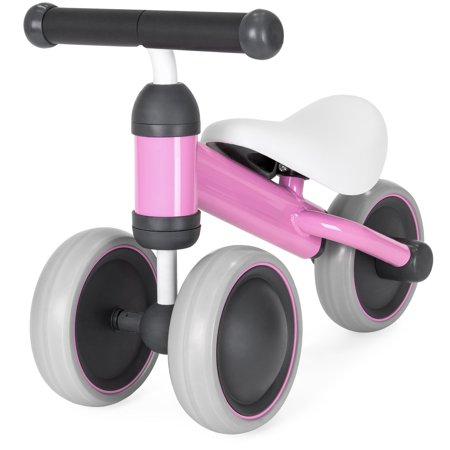 Best Choice Products Kids Lightweight Training Tricycle with Cushioned Seat, Hand Grips,