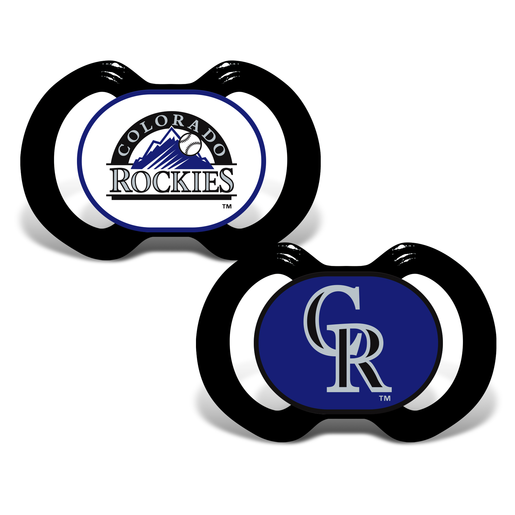 MLB Colorado Rockies 2-Pack Pacifiers