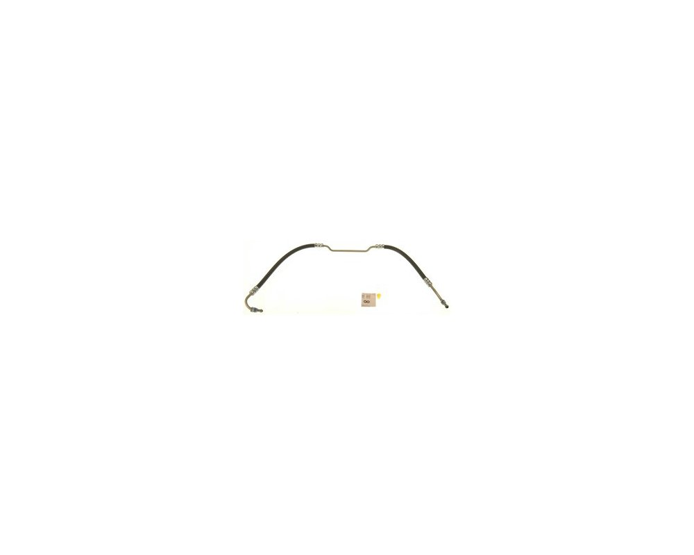 Pro Braking PBC8040-TRD-GRE Braided Clutch Line Transparent Red Hose /& Stainless Green Banjos