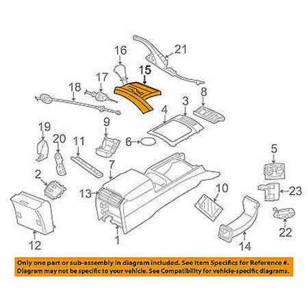 jeep chrysler oem 2007 commander center console shift. Black Bedroom Furniture Sets. Home Design Ideas