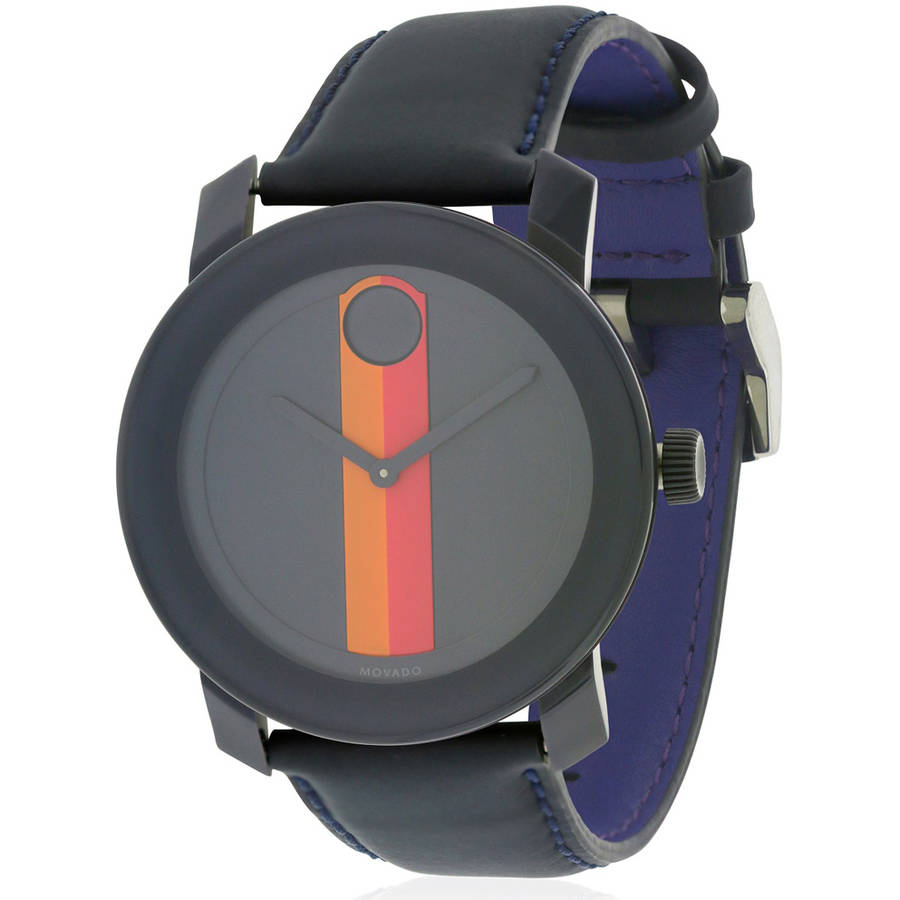 Movado Bold Leather Watch, 3600231