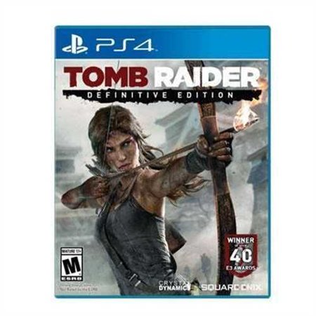 Square Enix Tomb Raider Definitive Ed (PS4) - Pre-Owned](Tomb Raider Outfits)
