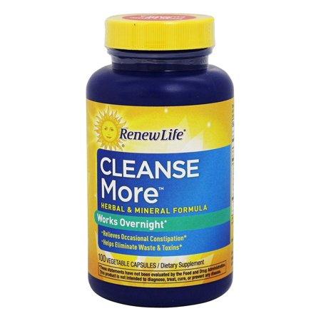 Renew Life Formulas Renew Life  CleanseMore, 100