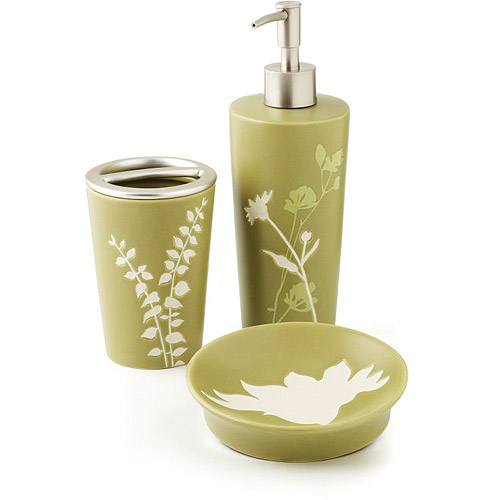 Hometrends Marmon 3 Piece Bath Accessories Set