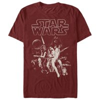 Star Wars Men's Classic Poster T-Shirt