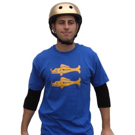 Blue Barracudas Legends of the Hidden Temple T-Shirt TV Game Show Team Costume - Legends Of The Hidden Temple Shirts