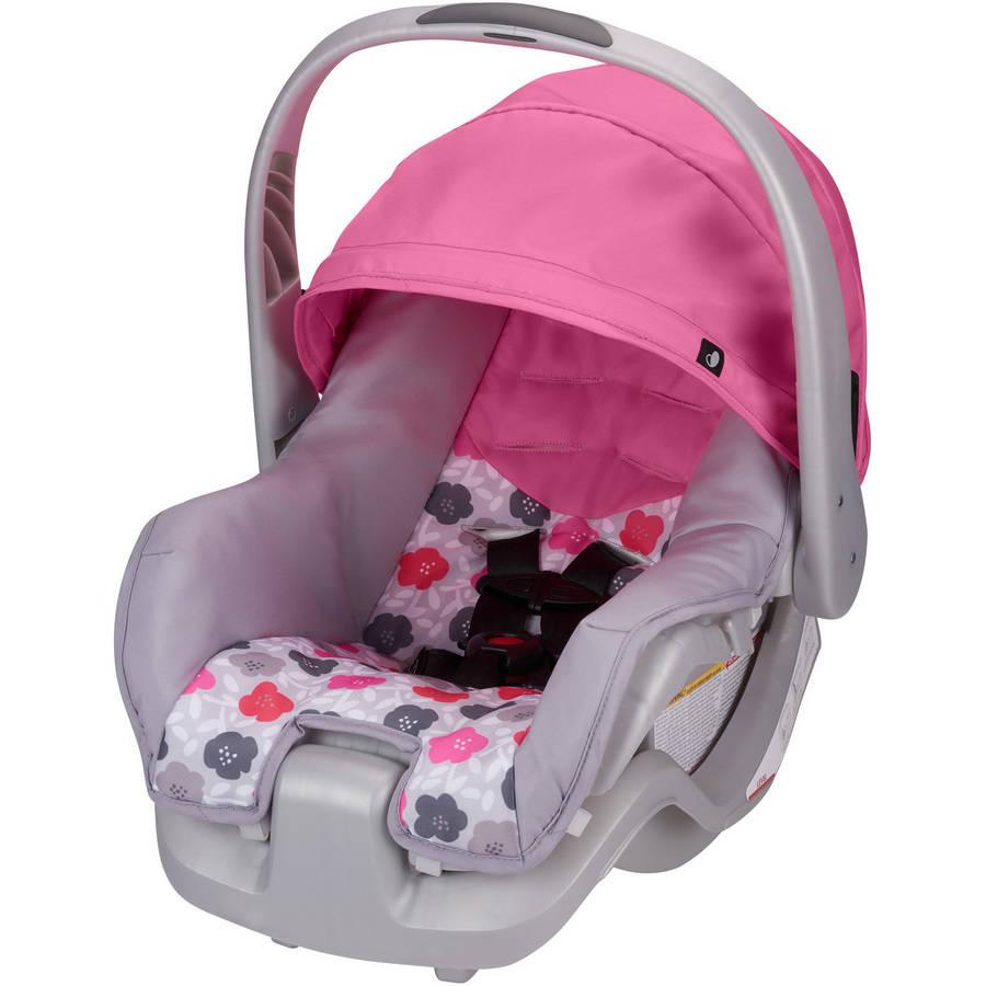 Evenflo Nurture Infant Car Seat, Pink Bloom