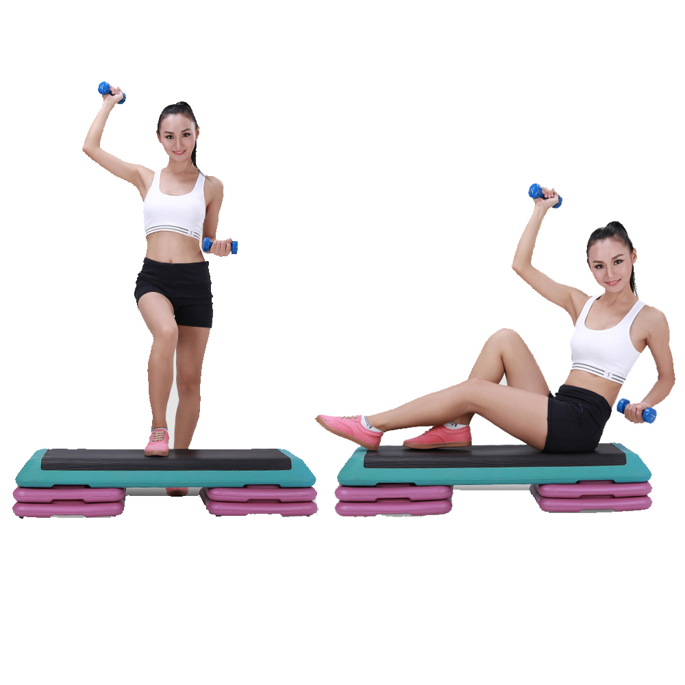Zimtown Fitness Adjustable  Aerobic Step Balance Stepper ...
