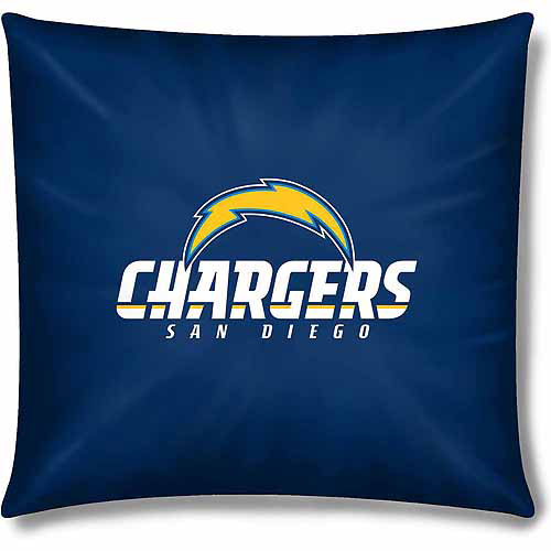 "Chargers Official 15"" Toss Pillow"