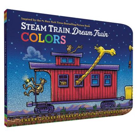 Steam Train, Dream Train Colors (Board Book) (Color Dreams)