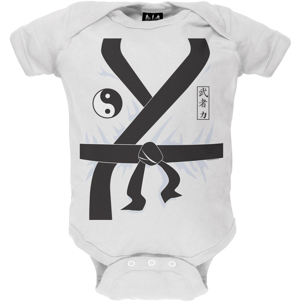 Karate Kid Costume Baby One Piece