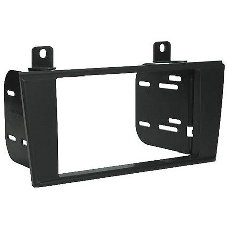 Ford Double Din Kit - SCOSCHE LN1329B - 2000-06 Lincoln LS / 2002-06 Ford Thunderbird Double DIN Mounting Dash Kit for Car Radio / Stereo Installation