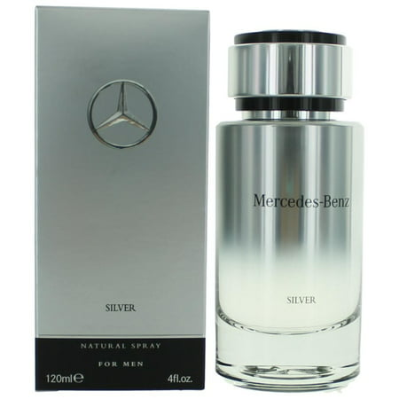 (pack 9) Mercedes Benz Silver By Mercedes Benz Eau De Toilette Spray4 oz - image 2 of 2