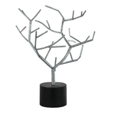 Orren Ellis Jan Metal Tree Branch Table Decor On Round Base