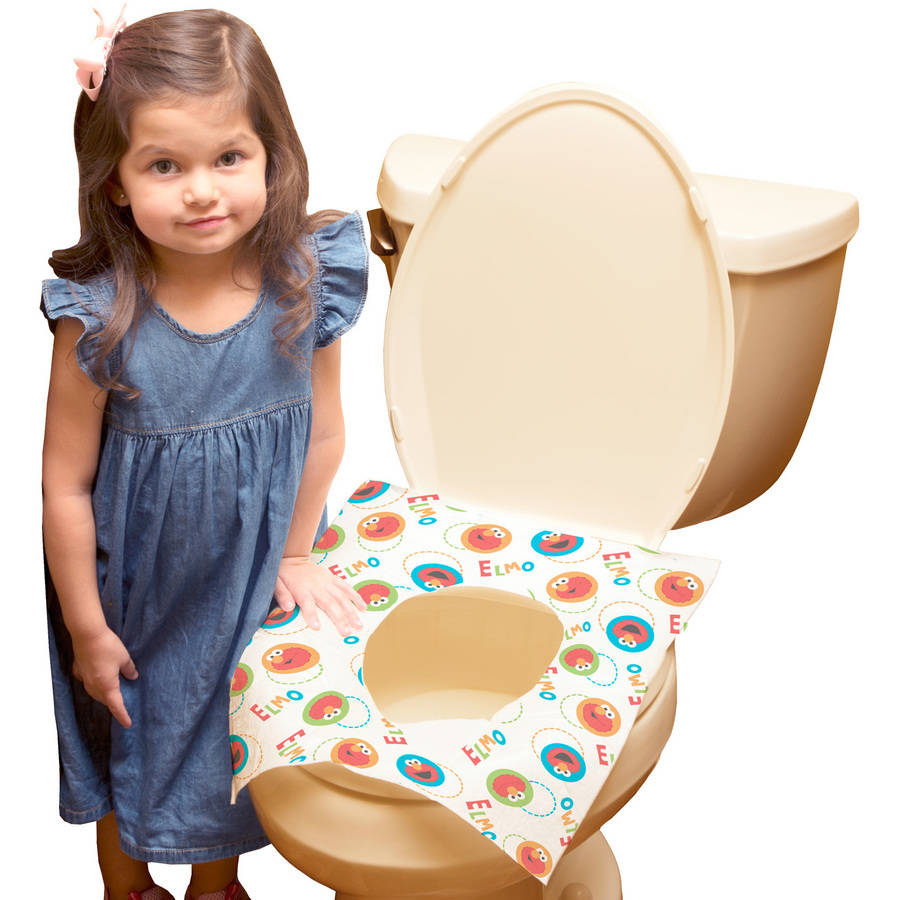 Sesame Street Disposable Toilet Seat Covers, 40 Count