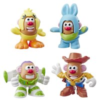 Disney Pixar Toy Story 4 Mr. Potato Head Mini 4 Pack