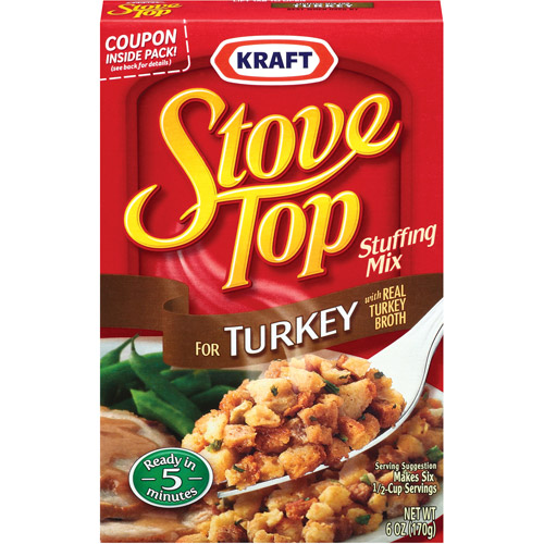 Kraft For Turkey Stove Top Stuffing Mix, 6 oz