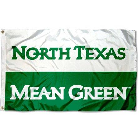 University of North Texas Mean Green Flag (University Large Flag)