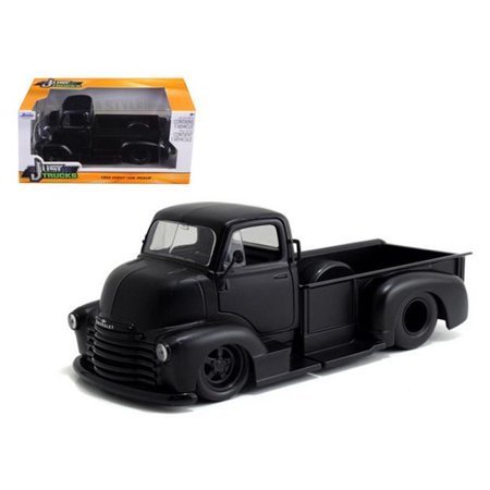 Just Trucks Series: 1952 Chevy COE Pickup (Black with Black Trims) 1/24