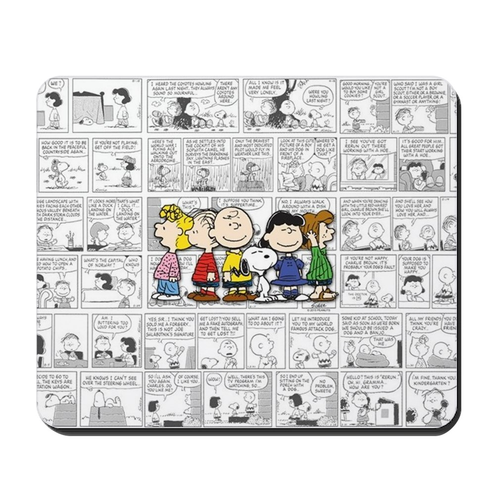 CafePress - The Peanuts Gang - Non-slip Rubber Mousepad, Gaming Mouse Pad