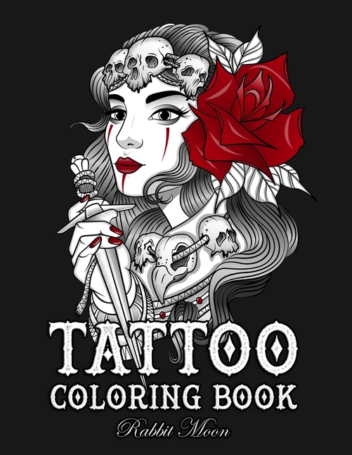 Tattoo Coloring Books: Tattoo Coloring Book : An Adult Coloring Book With  Awesome, Sexy, And Relaxing Tattoo Designs For Men And Women (Series #4)  (Paperback) - Walmart.com - Walmart.com