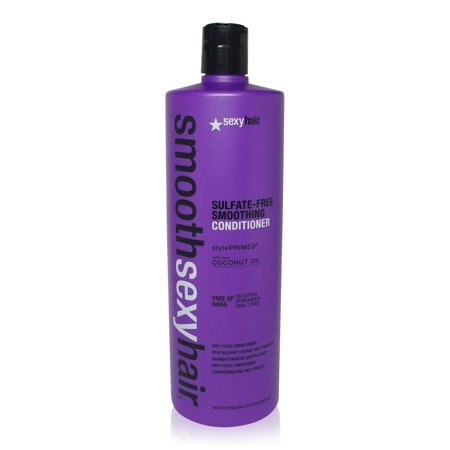 Sexy Hair Smooth Sulfate Free Smoothing Anti Frizz Conditioner 33.8