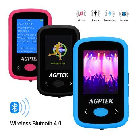 AGPtek Bluetooth MP3 Player sport FM/Voice Recorder 8G HD HiFi  - Halloween Horror Sounds Mp3