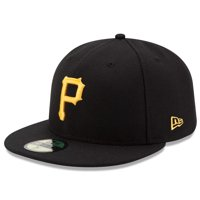 Pittsburgh Pirates New Era Game Authentic Collection On-Field 59FIFTY Fitted Hat - Black